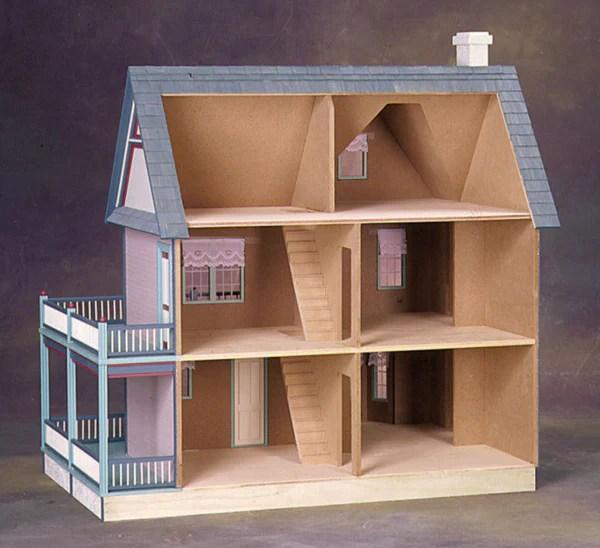 Victoria S Farmhouse Dollhouse Kit The Magical Dollhouse