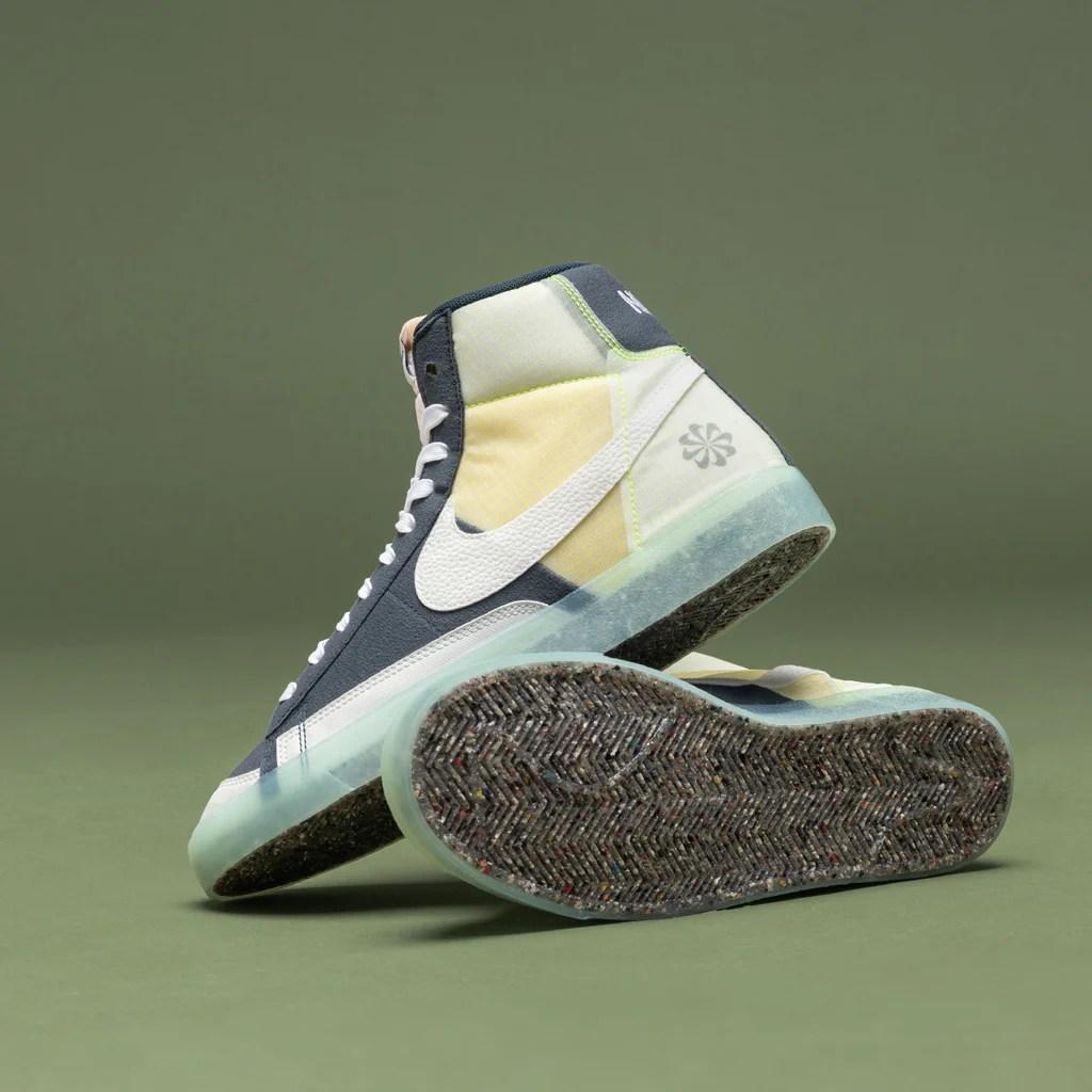 Nike Blazer Mid '77 *Move To Zero* (Armory Navy / White / Summit White)