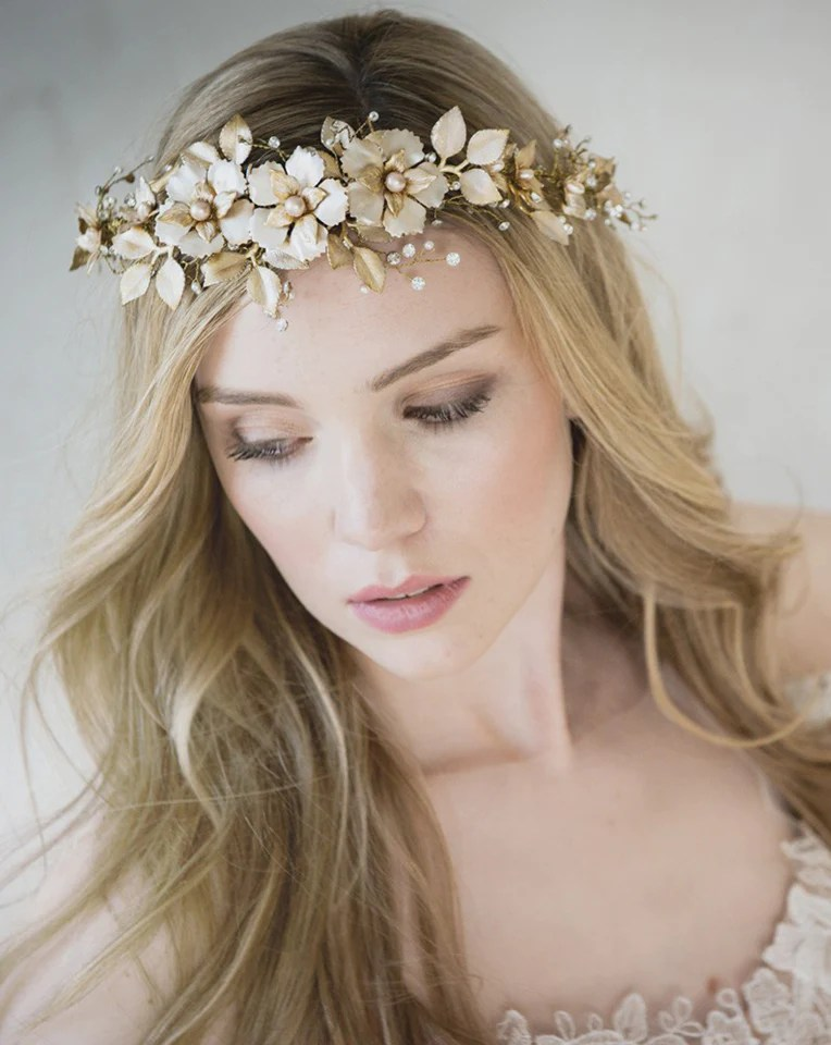 Bridal Headpieces Fiorentina By Stephanie Browne