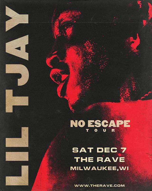 lil tjay 12 7 2019 concert poster
