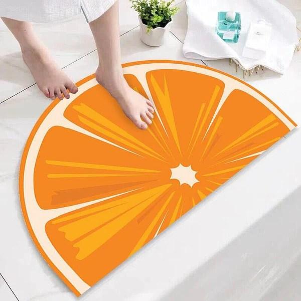 tapis de bain demi lune tapis de bain