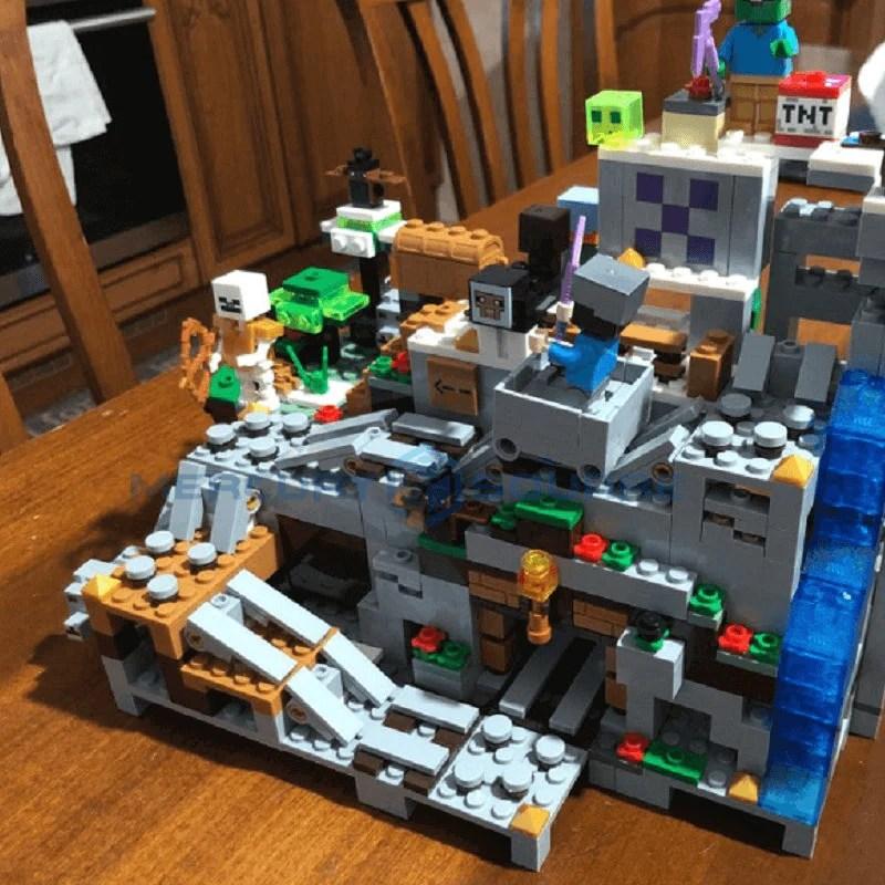 Blocos lego de montar infantil