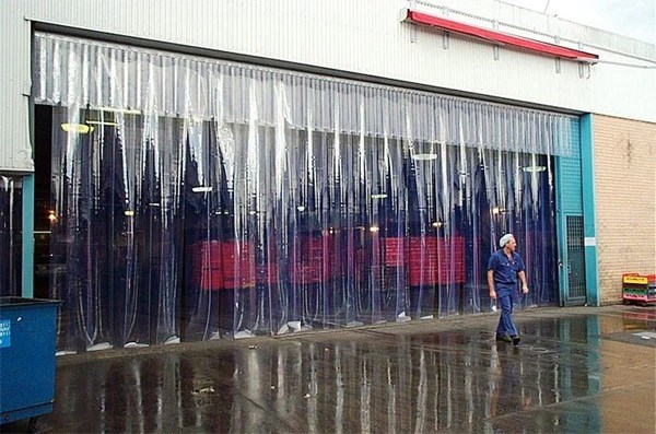 pvc strip door curtain kit vinyl strip door
