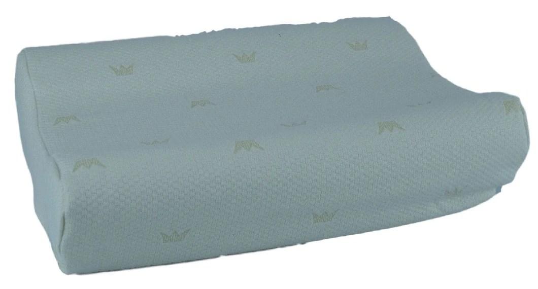 royal rest orthopedic memory foam pillow