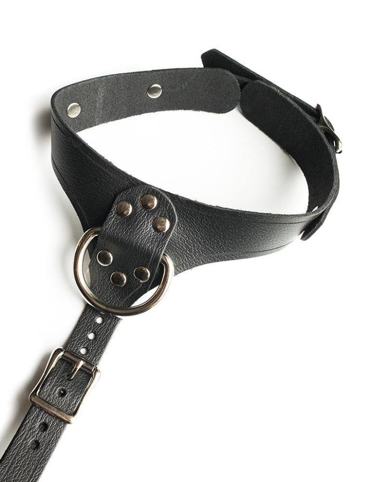 FULL CURVES LEATHER BUST HARNESS