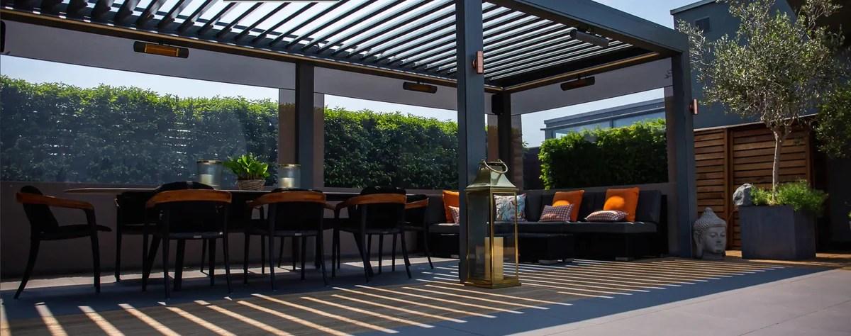 louvered roofs award winning modern louvered roof aluminium pergolas blindstech