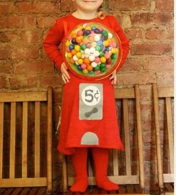 Gumball Machine Halloween Costume