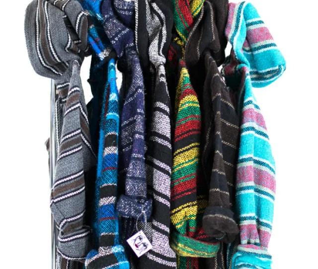 Baja Surf Poncho Vintage S Mexican Hoodie Sweater Unisex Drug Rug Sweatshirt