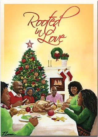 African American Christmas Cards AAE C922 Its A Black