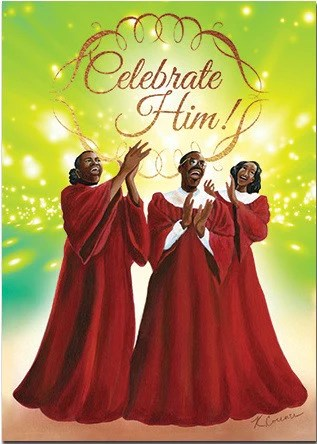 African American Christmas Cards AAE C924 Its A Black