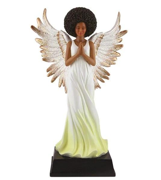Afro Angel Figurine Its A Black