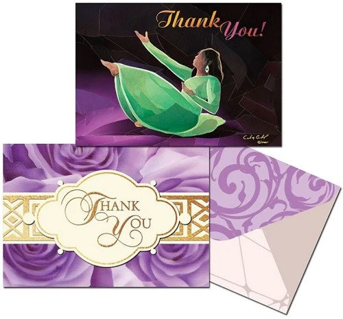 African Thank You Cards