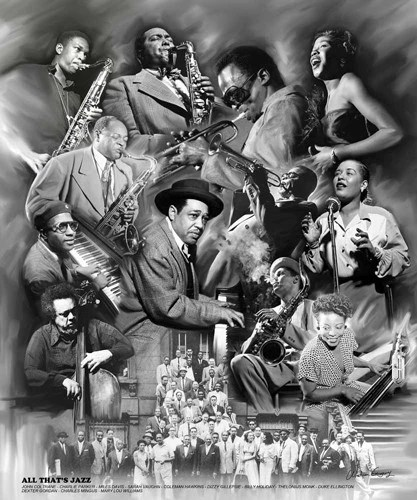 All Thats Jazz 24x20 Print Wishum Gregory Its A