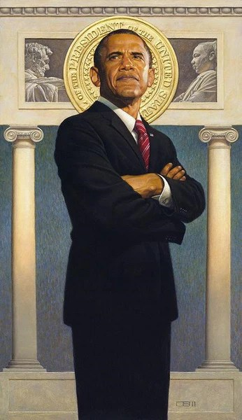 President Obama 35x21 Limited Edition Print Thomas