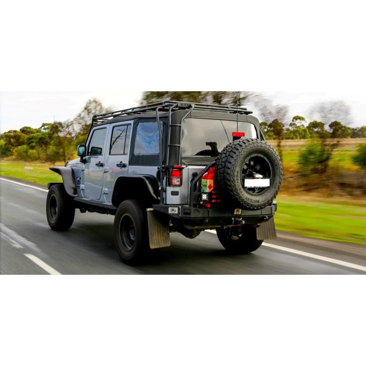 gobi jeep jk 4dr stealth roof rack