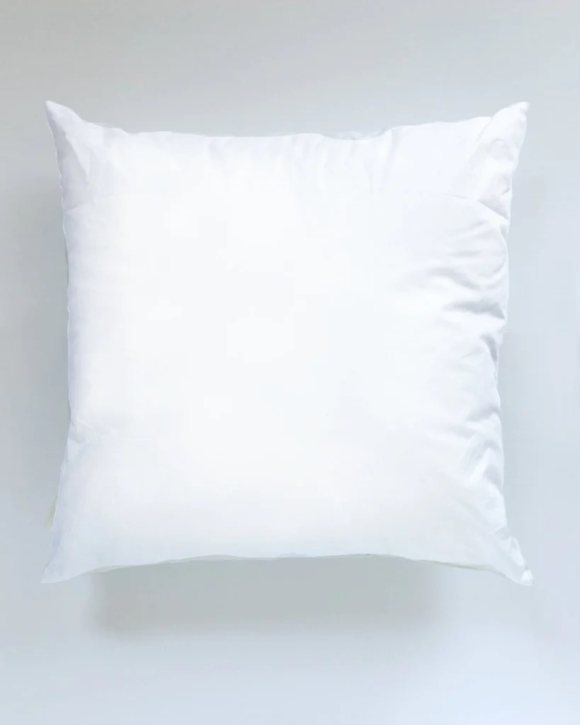 20 x 20 synthetic down pillow insert