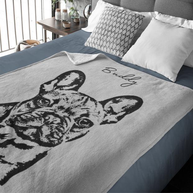 custom pet pillow using pet photo