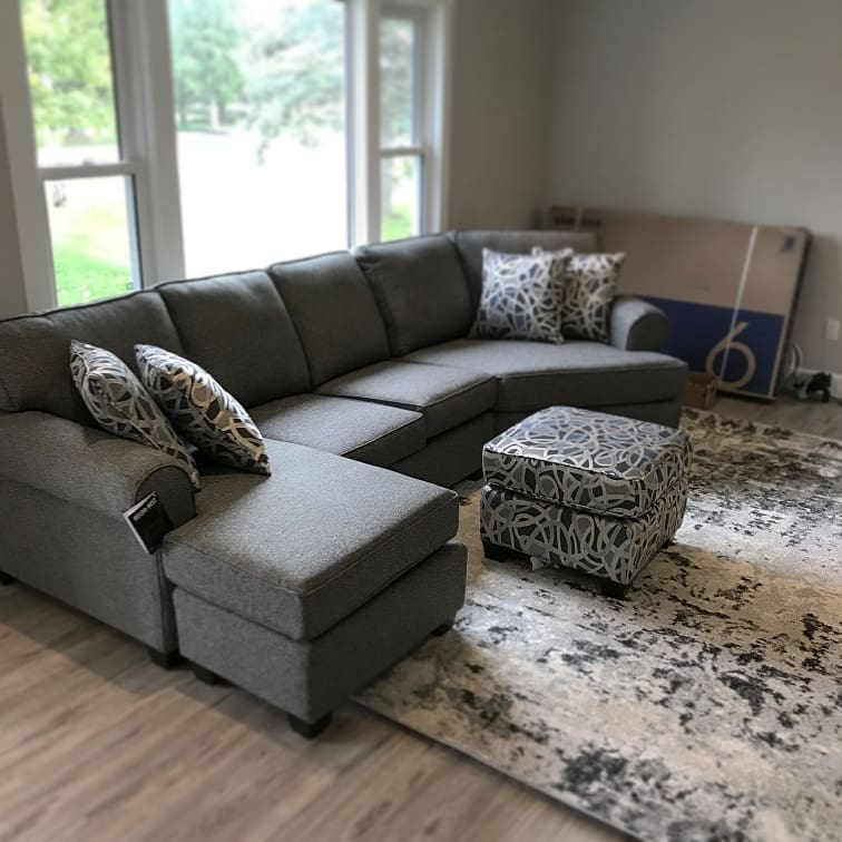 decor rest chaise and cuddler sectional