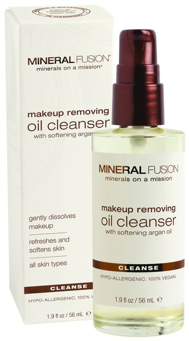 Makeup Removing Oil Cleanser Mineral Fusion