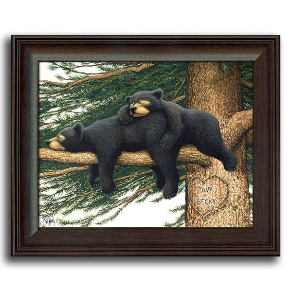 Personalized Art Nature Wall Decor Framed Animal Art