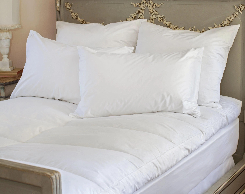st geneve luxury goose down mattress topper the mattress sleep company