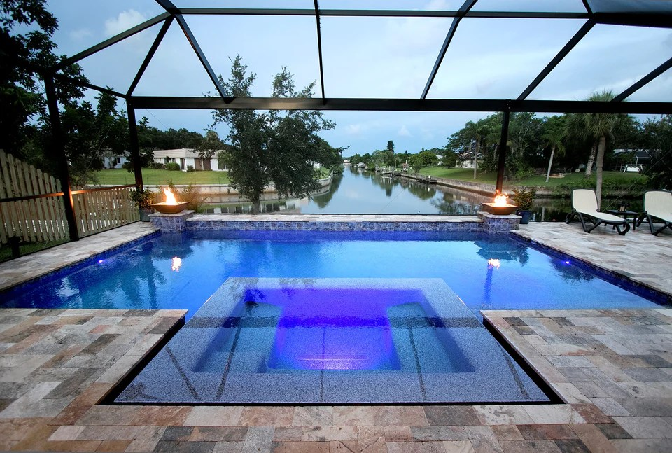 indigo pool patio bbq pools outdoor