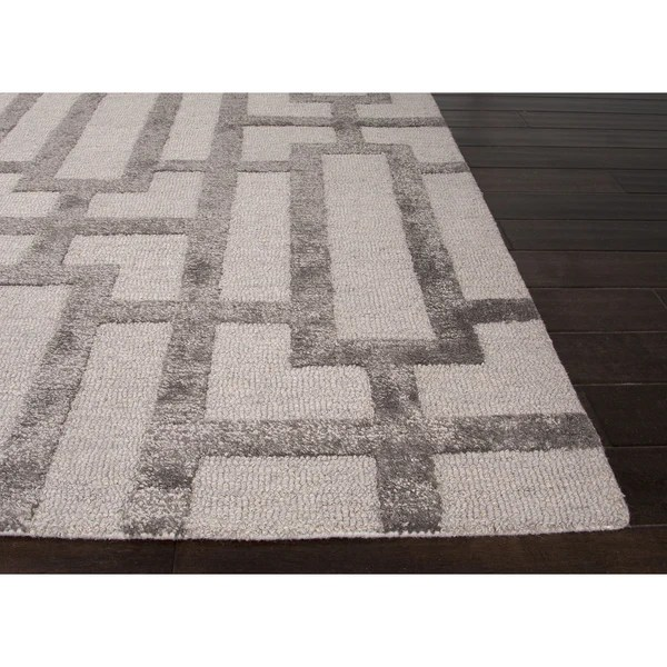 Solid Color Border Rugs Blue