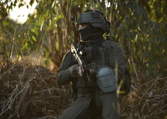 Sayeret Egoz soldier