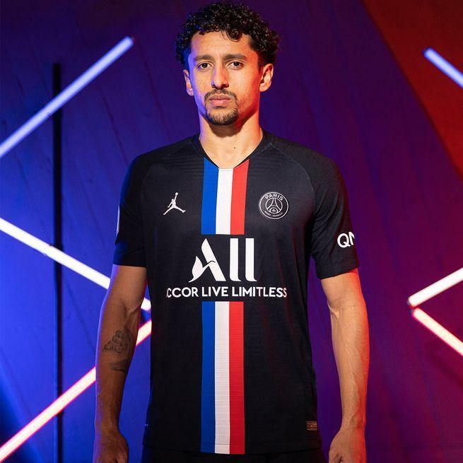 maillot psg x jordan fourth 2020 homme