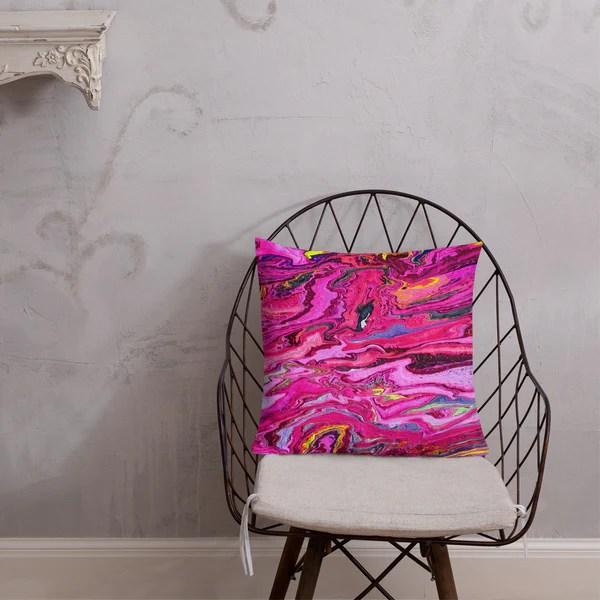 ss flamingo throw pillow