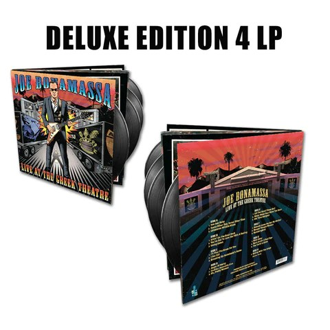 Joe Bonamassa: Live at the Greek Theatre (Deluxe Edition 4 LP Vinyl Set) (Released: 2016) ***PRE-ORDER***