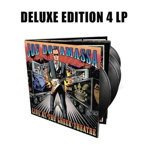 Joe Bonamassa: Live at the Greek Theatre (Deluxe Edition 4 LP Vinyl Set) (Released: 2016) ***PRE-ORDER***