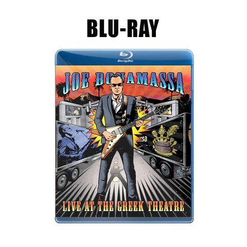 Joe Bonamassa: Live at the Greek Theatre (Blu-ray) (Released: 2016) ***PRE-ORDER***