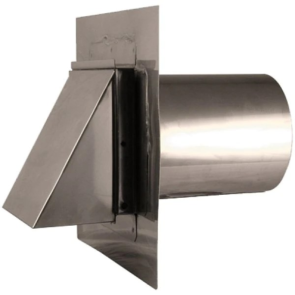 stainless steel dryer vent exhaust vent 4 12