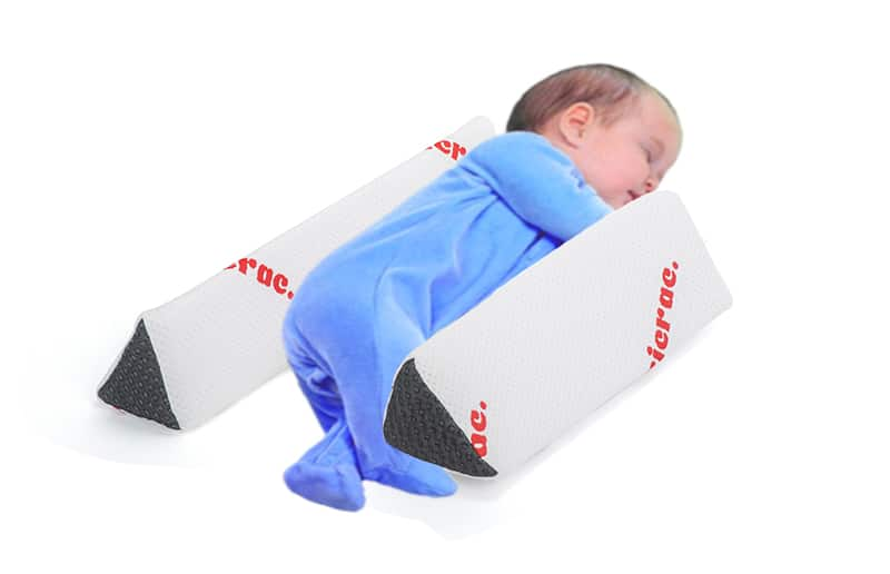 baby anti roll pillow rebus