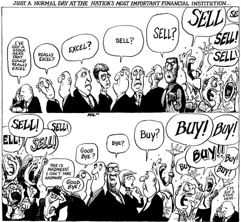 Bildresultat för buy buy sell sell cartoon