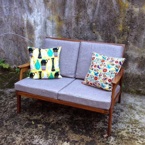 reupholstering midcentury furniture