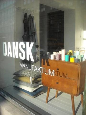 Shop window in Copenhagen