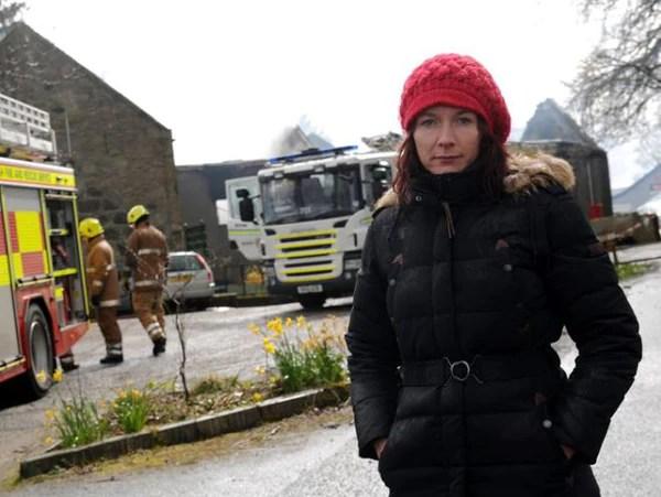 Nina Eggens Lethenty Mill fire