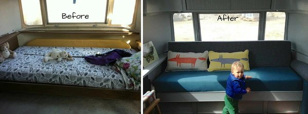 makeover of a vintage airstream