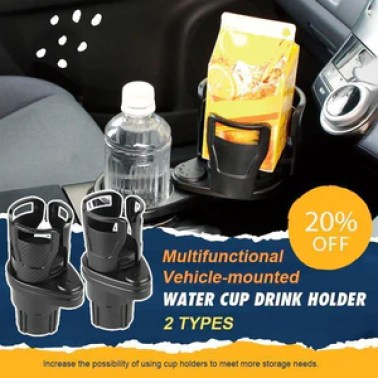 (Autumn Promotion-40% OFF) All Purpose Car Cup Holder And Organizer