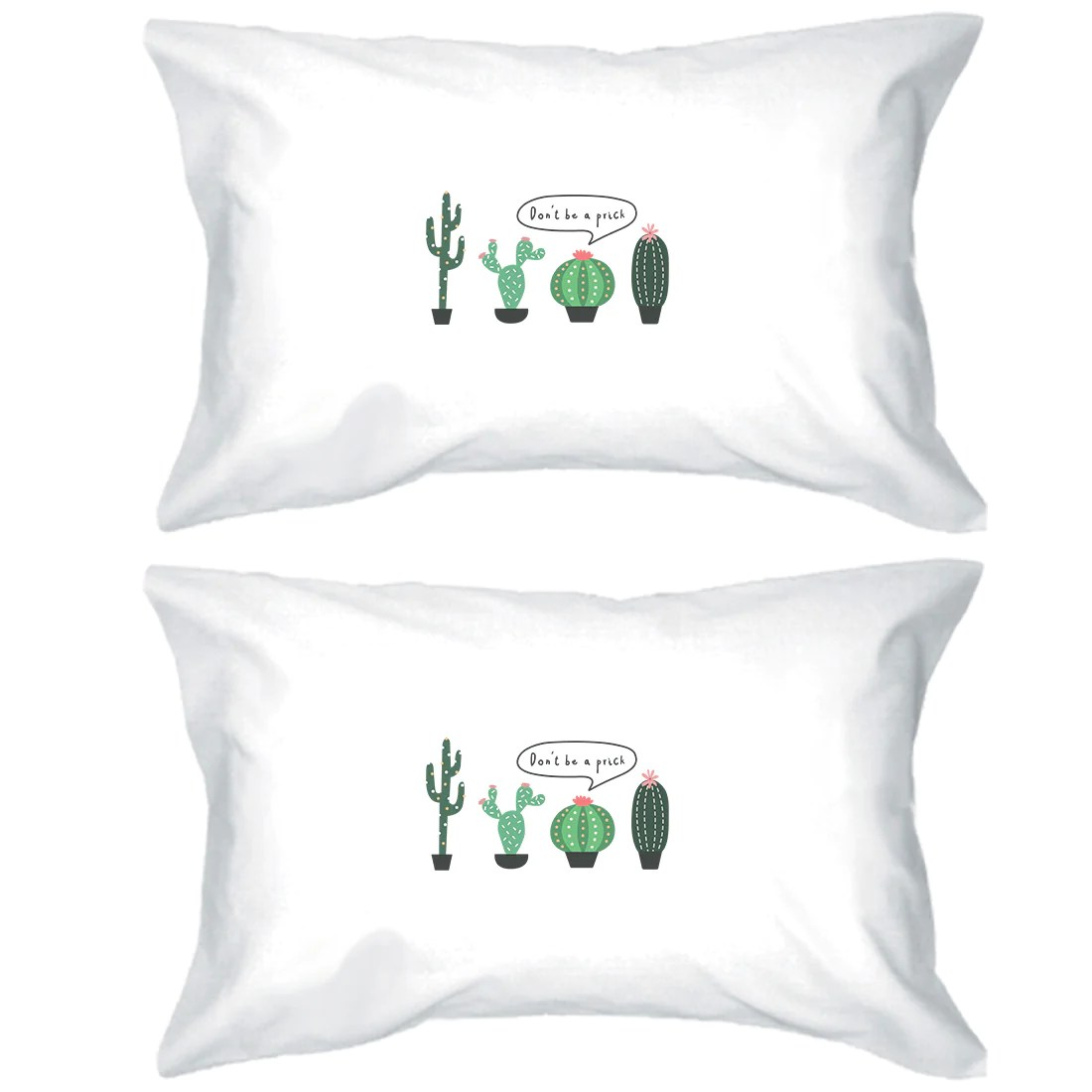 don t be a prick pillowcases standard size funny pillow covers gift