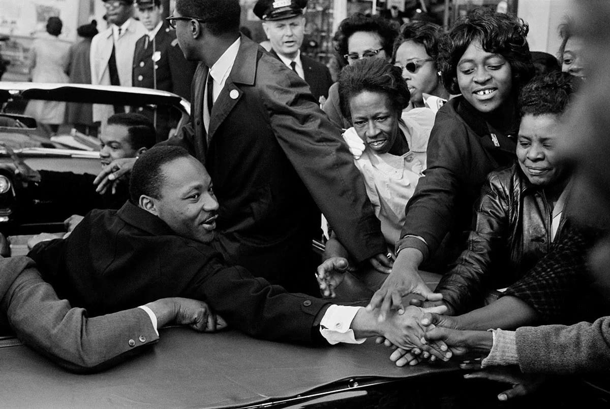 Dr Martin Luther King Jr Baltimore 1964 Magnum Photos