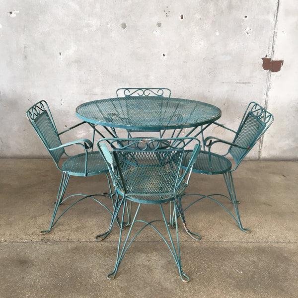 vintage outdoor furniture patio