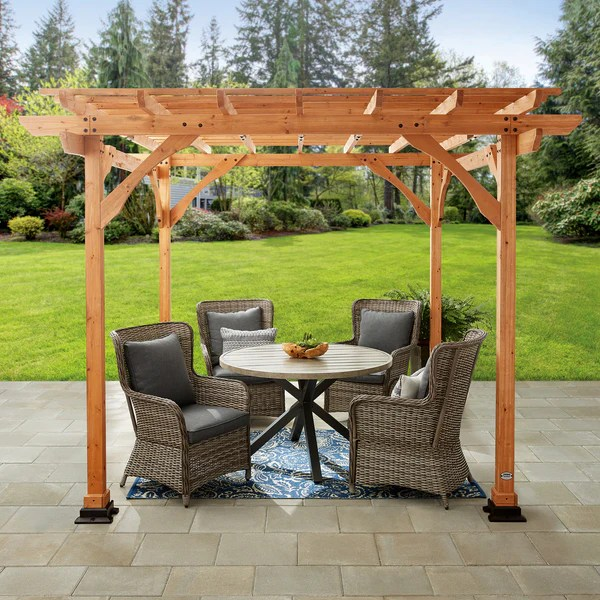 Backyard Pergolas For Patios Backyard Discovery
