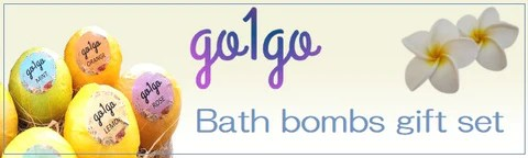 go1go Luxury Bath bombs gift set