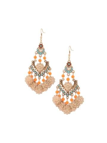 Ethnic Neon Earrings