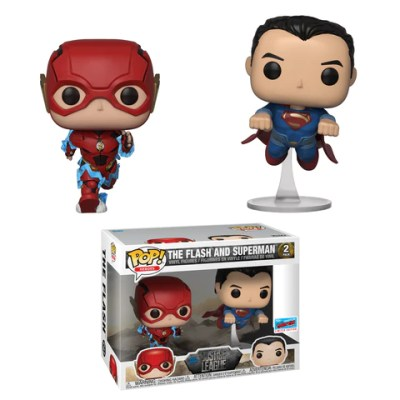 Superman & The Flash NYCC Funko Pop Exclusive