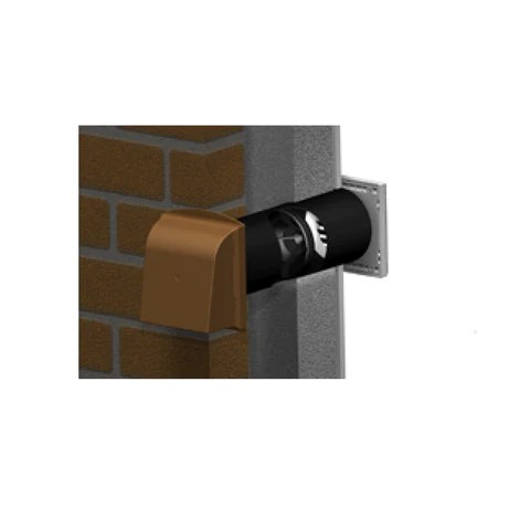 5 Cavity Core Gas Vent With Anti Draught Cowl Homesmart