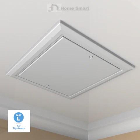 Loft Trap Door Drop In Type Push Up Insulated Hatch